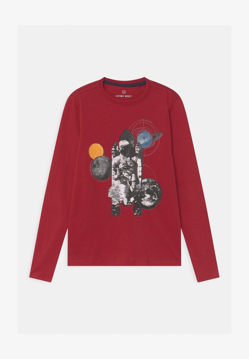 Lemon Beret - BOYS - Langærmede T-shirts - rio red