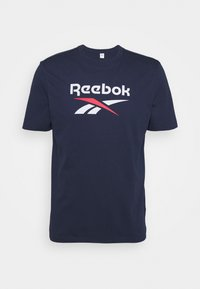 Reebok Classic - VECTOR TEE - T-shirt z nadrukiem - navy - 0