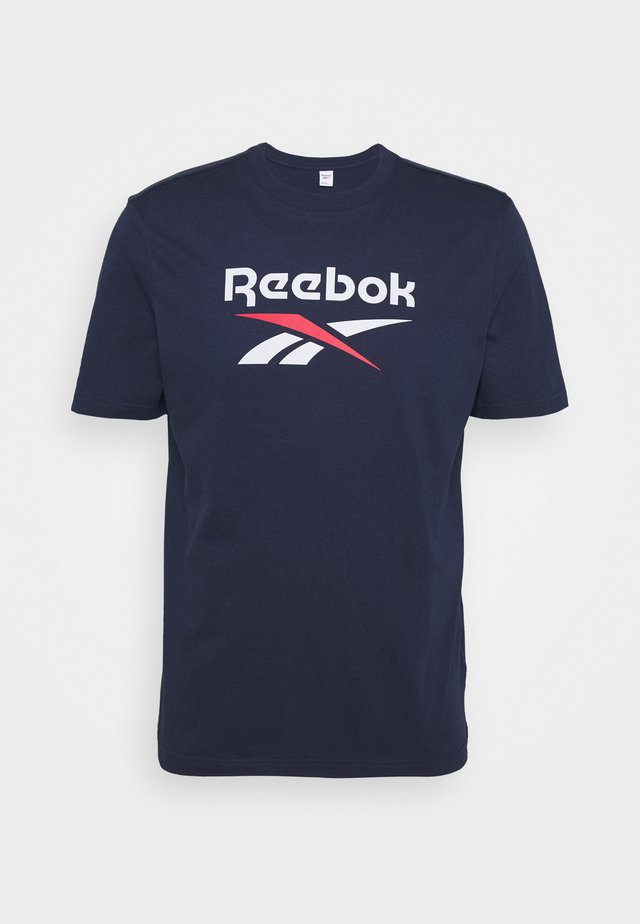 VECTOR TEE - Camiseta estampada - navy