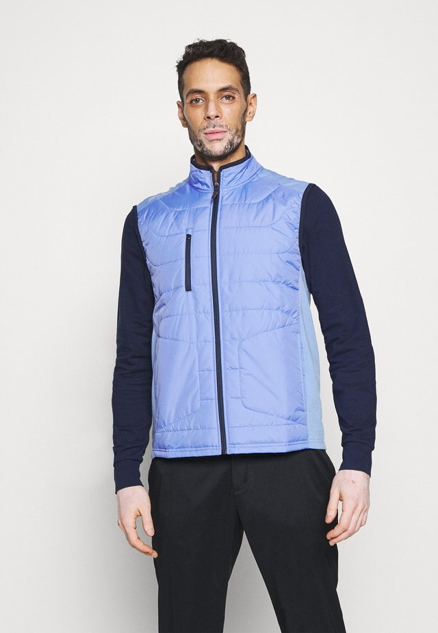 PACKDOWNVES  FILL VEST - Vesta - fall blue