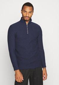 Topman - Sweatshirt - navy - 0