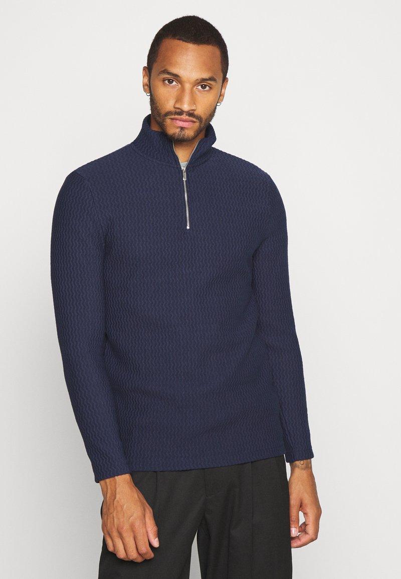Topman - Sweatshirt - navy