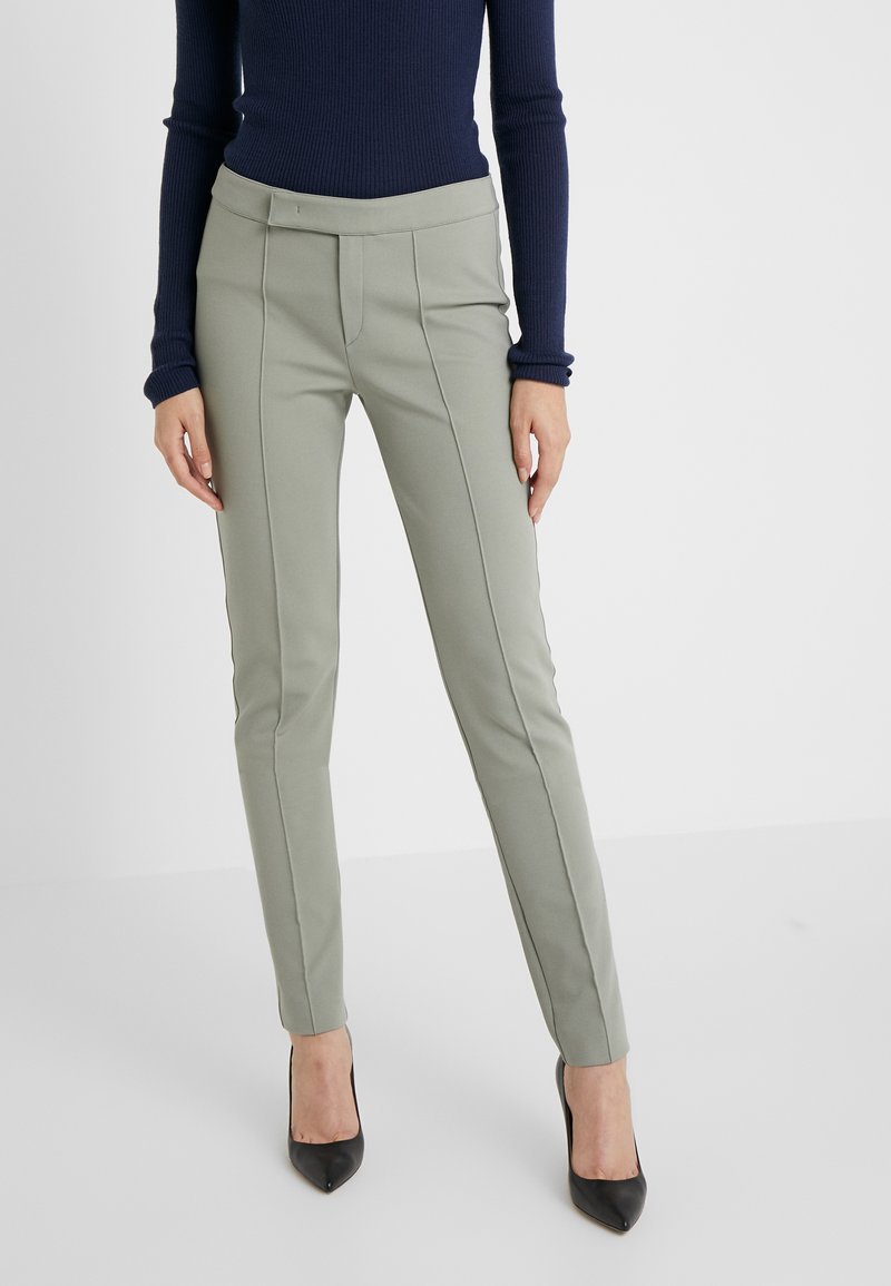 Strenesse - PANTS - Trousers - soft green