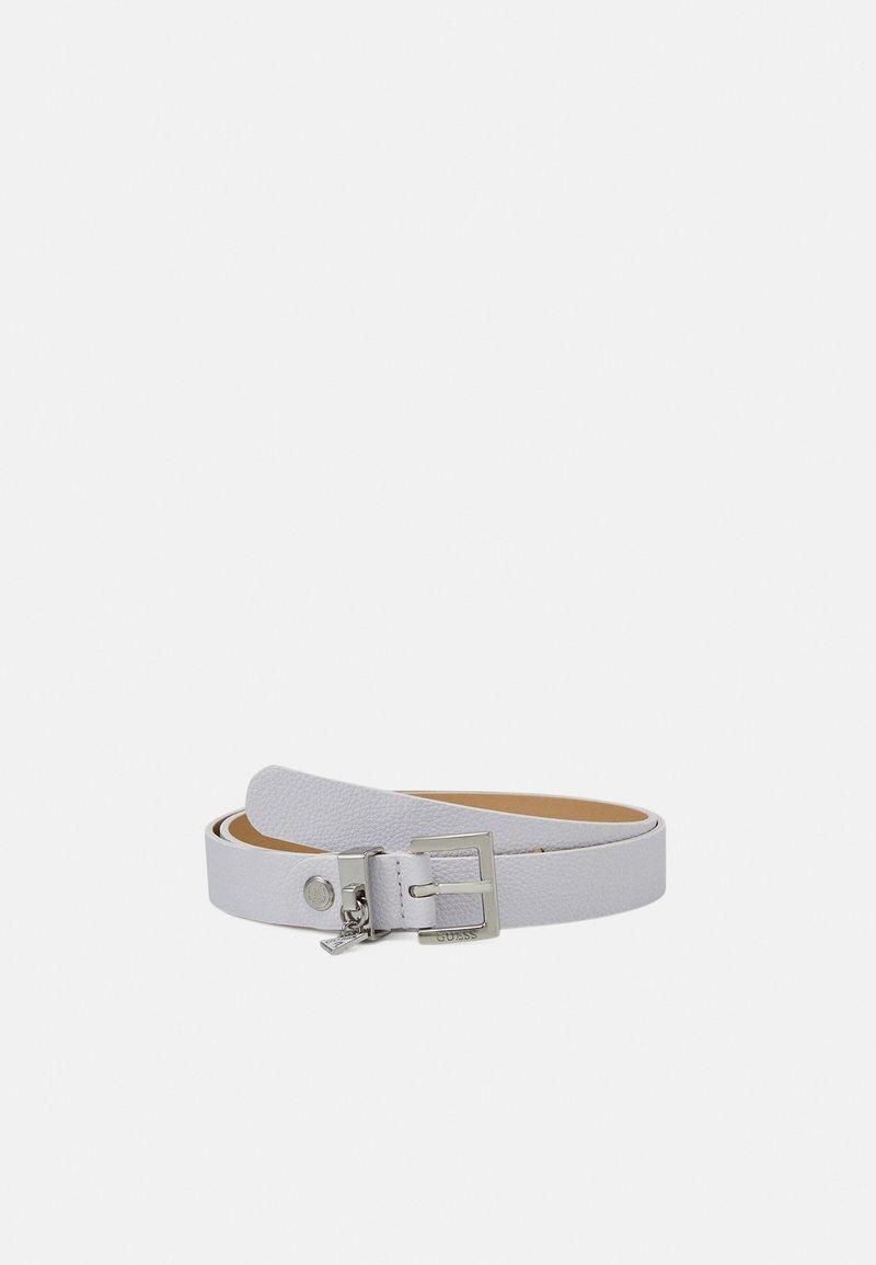 Guess - DESTINY ADJUSTBLE PANT BELT - Belt - white