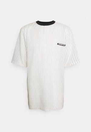 STRIPED TEE - T-shirt imprimé - white