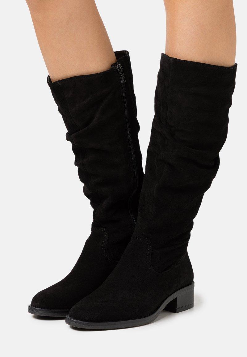 Tamaris - BOOTS - Laarzen - black