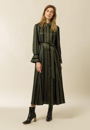 Day dress - dark olive