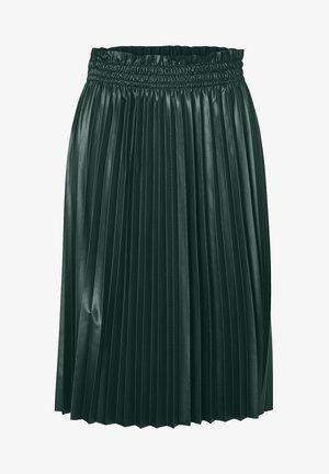 Pleated skirt - pine grove