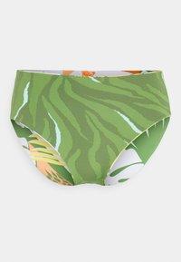 Roxy - WILDFLOWERS FULL BOTTOM - Bikini bottoms - turf green undertone - 2