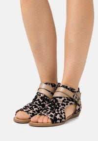 Blowfish Malibu - BALLA4EARTH - Ankle cuff sandals - sand - 0