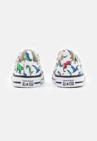 Converse - CHUCK TAYLOR ALL STAR DIGITAL DINOVERSE UNISEX - Trainers - white/green/university red - 2