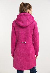 ICEBOUND - Krátký kabát - pink melange - 2