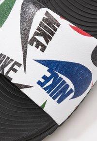 Nike Performance - KAWA SLIDE  - Sandály do bazénu - black/white - 5