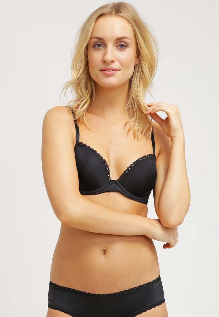 Calvin Klein Underwear - SEDUCTIVE COMFORT CUSTOMIZED LIFT - Push-up BH - black