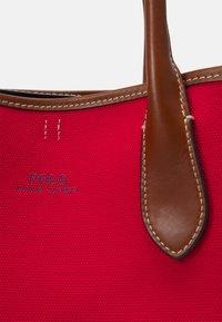 Polo Ralph Lauren - OPEN TOTE - Handbag - red - 5