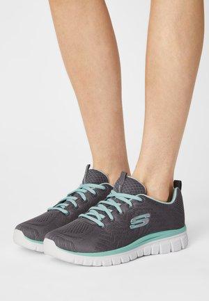 GRACEFUL  - Sneakers basse - charcoal/green