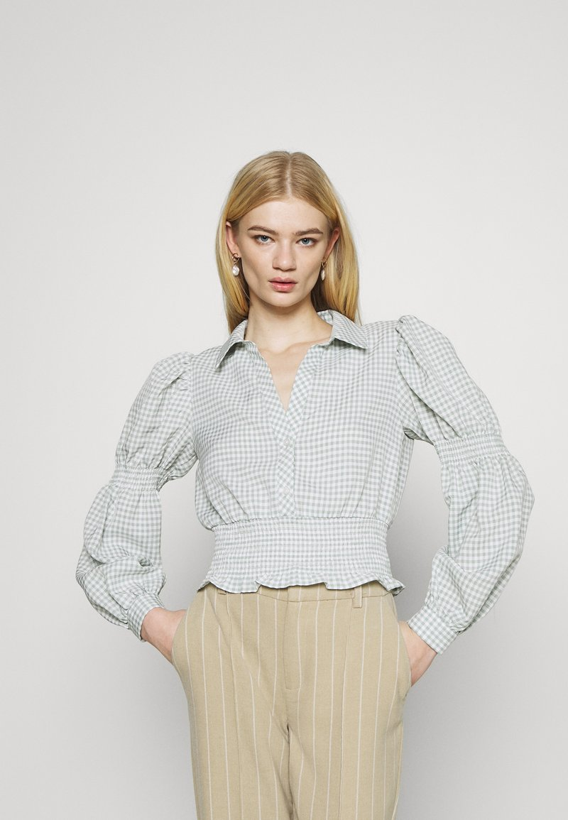 YAS - YASGRETA - Blouse - bright white