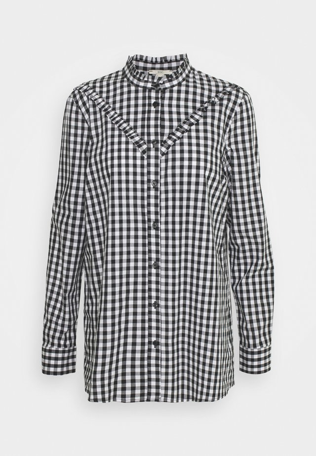 COO BLOUSE - Button-down blouse - offwhite