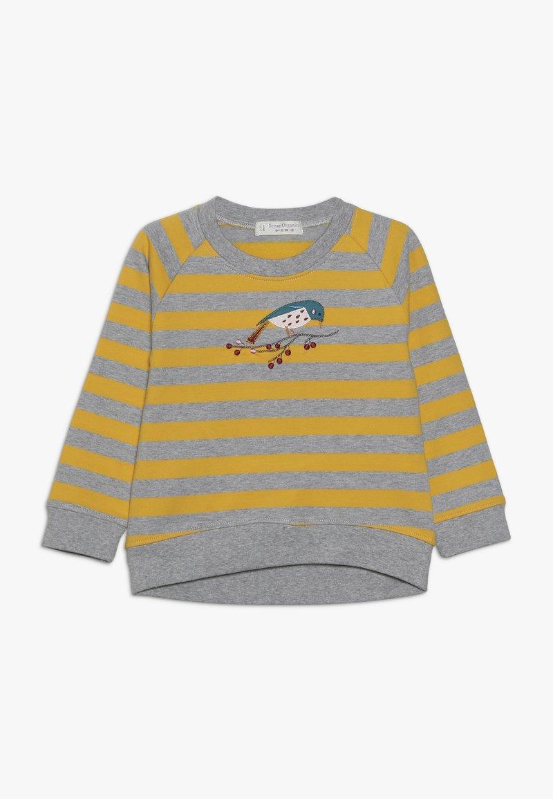 Sense Organics - LEOTIE - Sweatshirts - yellow/grey