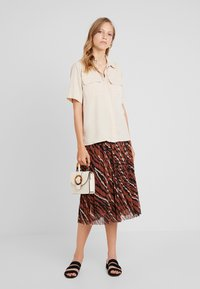 one more story - SKIRT - A-Linien-Rock - coffee caramel - 2