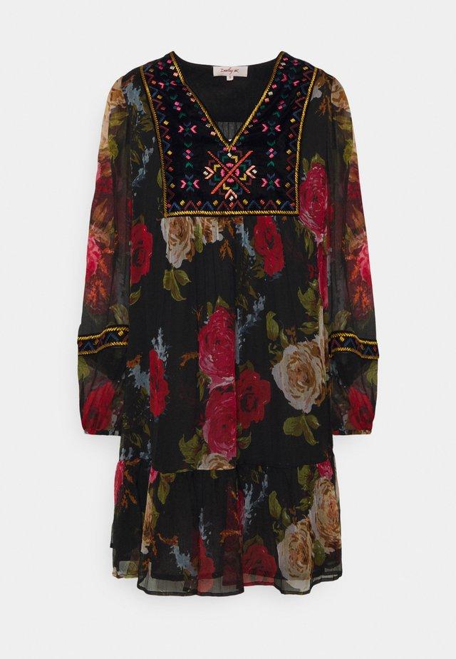 EPHEBE ROBE - Korte jurk - black