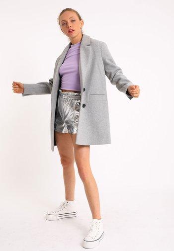 Short coat - grau meliert