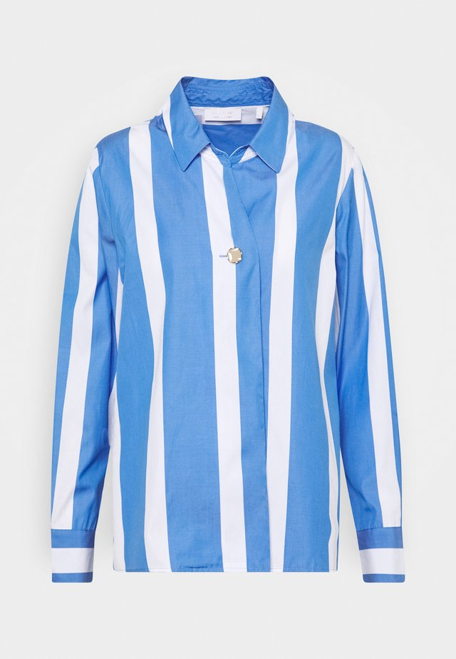 BLOUSE STRIPED - Overhemdblouse - sky blue