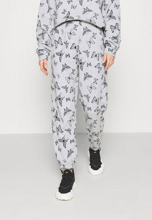 ACID BUTTERFLY JOGGER - Tracksuit bottoms - grey