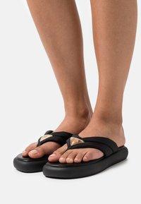 River Island - T-bar sandals - black - 0