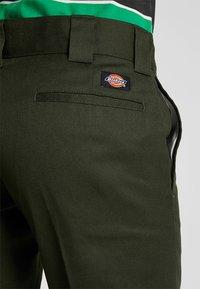 Dickies - 873 SLIM STRAIGHT WORK PANT - Trousers - olive green - 3