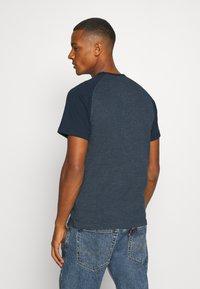 Ellesse - COPER - T-Shirt print - navy marl - 2