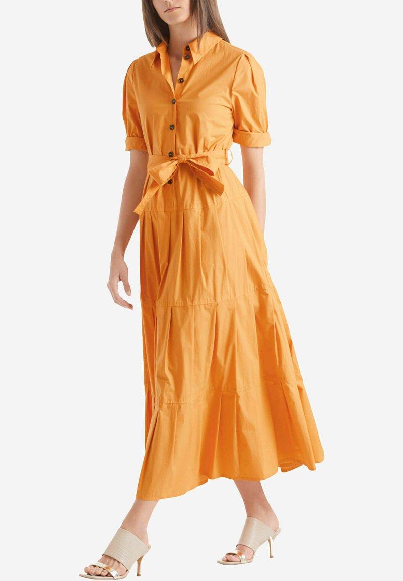Marc Cain - Shirt dress - gelb