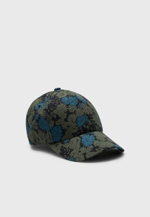 ARCHIVE FLORAL UNISEX - Cappellino - petrol green