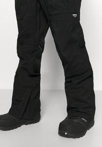 Burton - RESERVE BIB - Snow pants - true black - 3