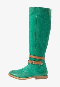 A.S.98 - Laarzen - emerald/natur - 1