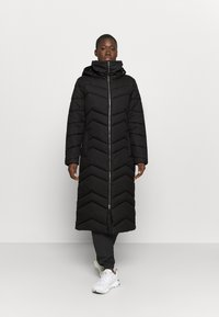 Jack Wolfskin - KYOTO LONG COAT - Winter coat - black - 0