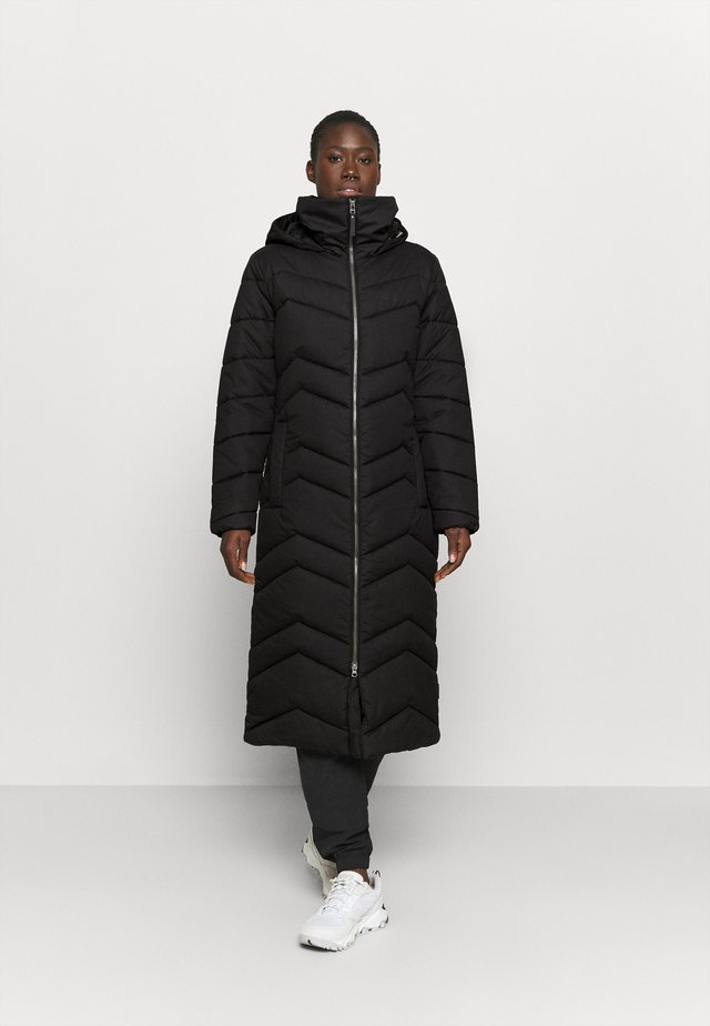 KYOTO LONG COAT - Vinterkåpe / -frakk - black