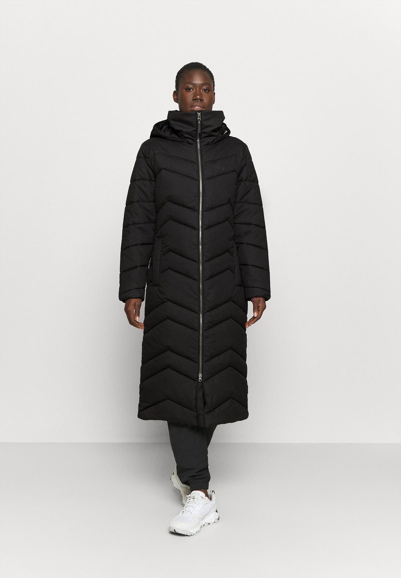 Jack Wolfskin - KYOTO LONG COAT - Winter coat - black