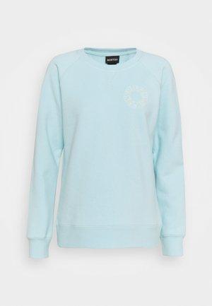 KEELER CREW - Sweatshirt - iced aqua