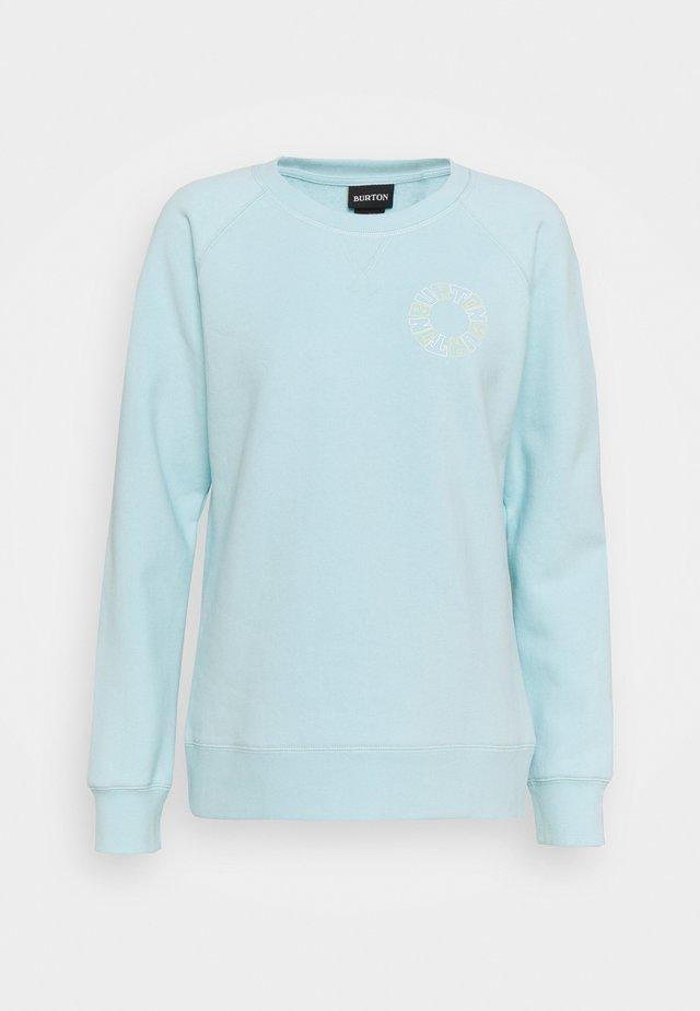 KEELER CREW - Sweater - iced aqua