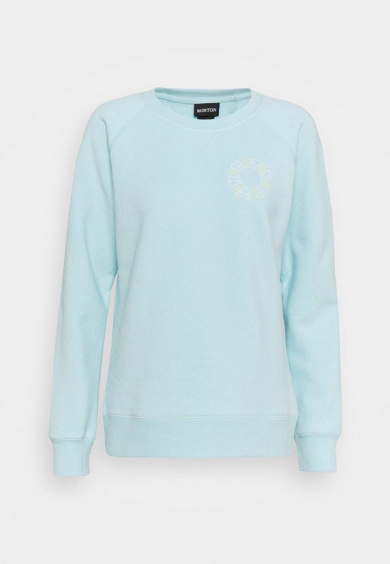 Burton - KEELER CREW - Sweatshirt - iced aqua