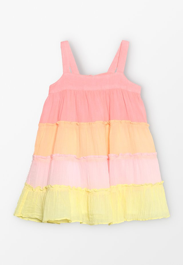 GIRLS TIERED DRESS - Day dress - pink