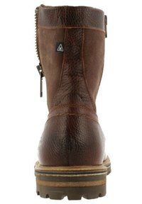 Gaastra - ANKLE BOOT/BOOTIE CASTOR HGH TMB - Cowboy/biker ankle boot - brown - 5
