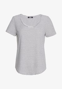 Zign - T-shirt print - off-white/black - 0