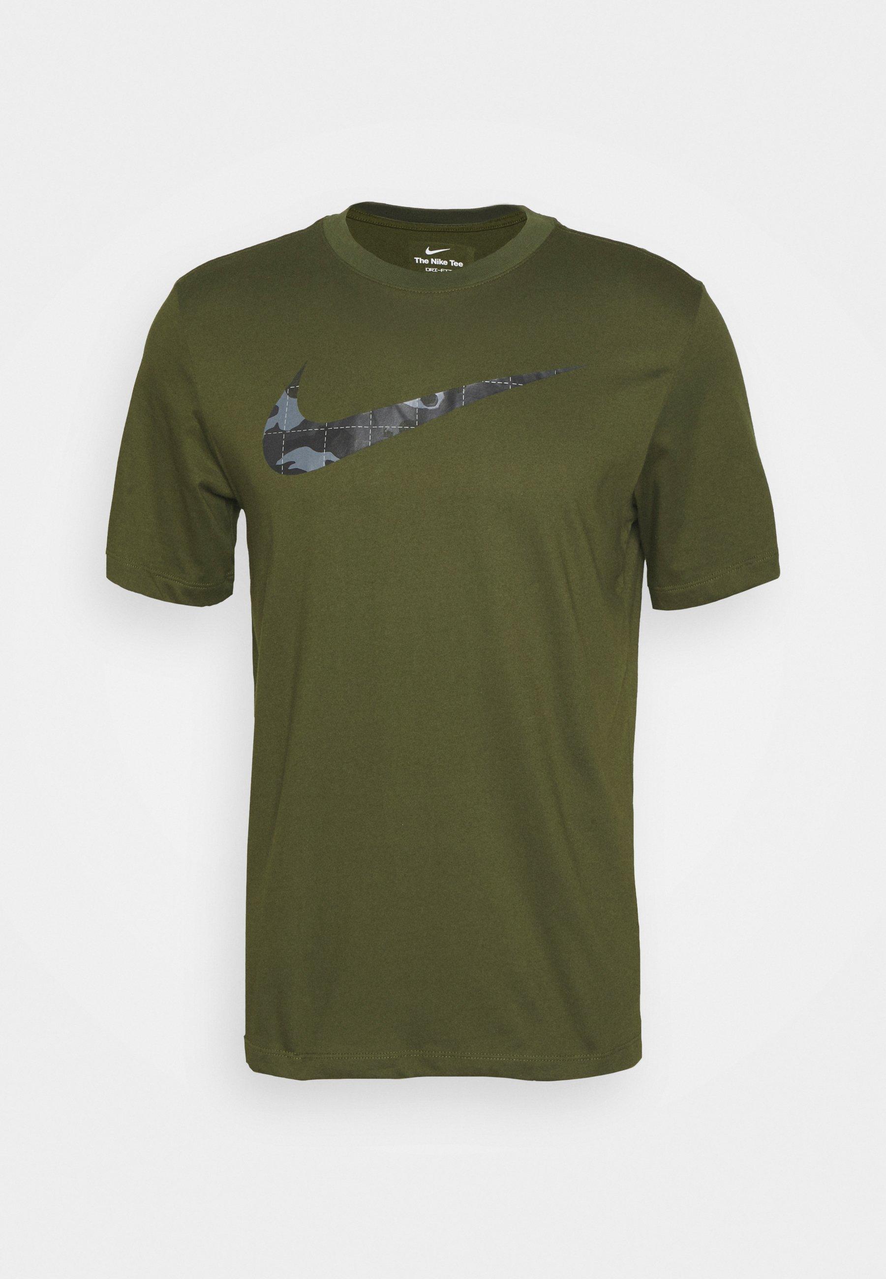 Uomo TEE CAMO FILL - T-shirt con stampa