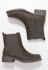 Clarks - Classic ankle boots - grey - 5