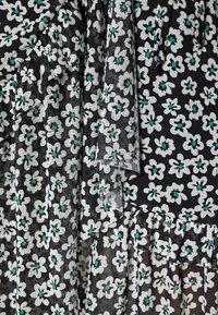 Fabienne Chapot - NATASJA FRILL DRESS - Day dress - black/emerald - 4