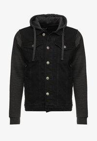Giacca di jeans - black/ dark grey