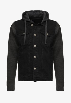 Kurtka jeansowa - black/ dark grey