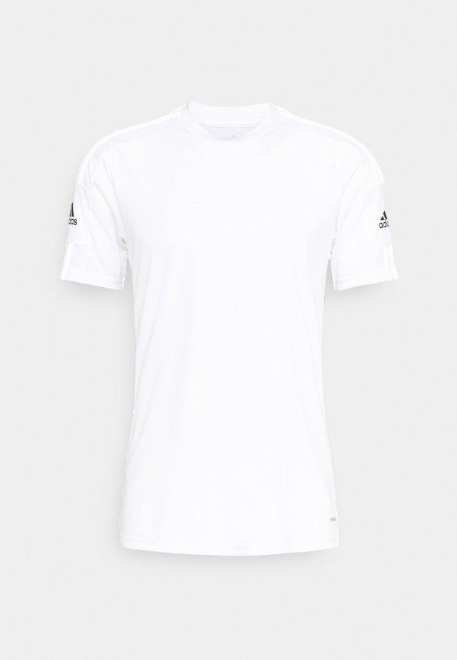 SQUAD 21 - T-shirts med print - white/black